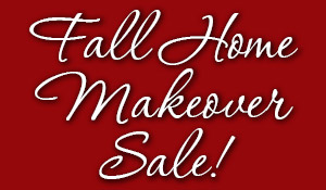 Fall Home Makeover Sale going on this month at First Choice Abbey Carpet and Floor.