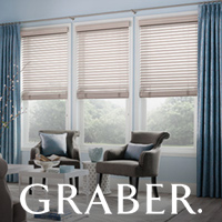 Graber window fashions available at Floortex Design.