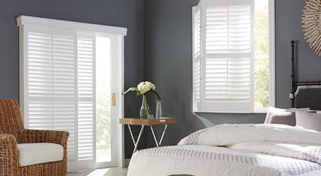 Create a dramatic statement with beautifully crafted Graber Shutters. Visit our showroom today to get started.